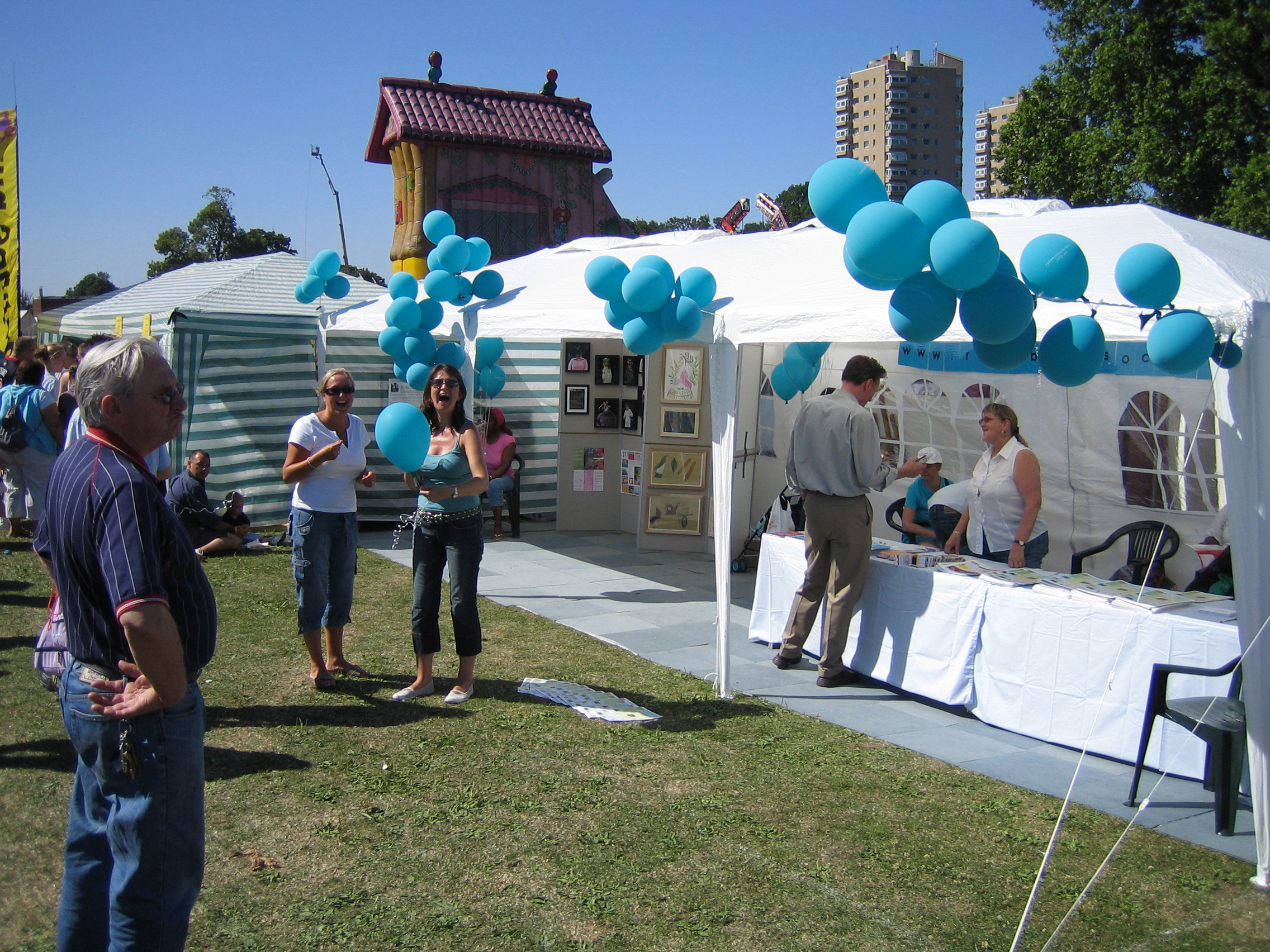 Country show stall