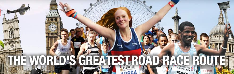 British 10K London Run 2014